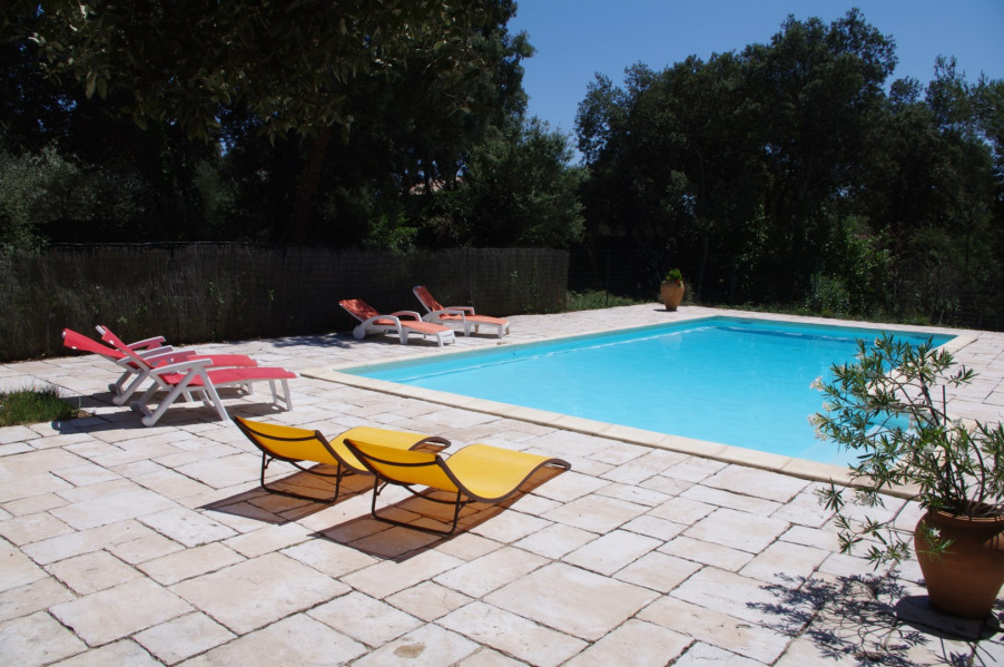 Location vacances Saint-Siffret -  Maison - 6 personnes - Barbecue - Photo N° 1