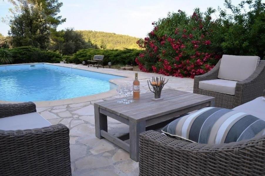 Location vacances Pignans -  Maison - 10 personnes - Jardin - Photo N° 1
