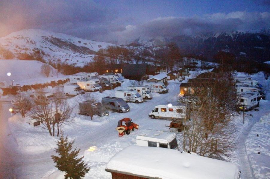 Camping du Col en hiver