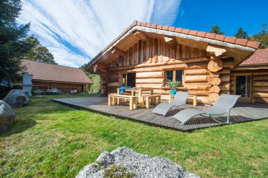 Chalet en rondins cosy 4/6p, 65m², 2 chambres, terrasse plein sud, calme