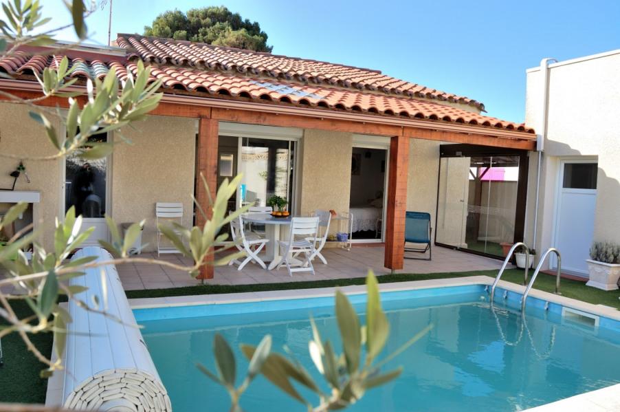 Location vacances Canet-en-Roussillon -  Maison - 4 personnes - Climatisation - Photo N° 1