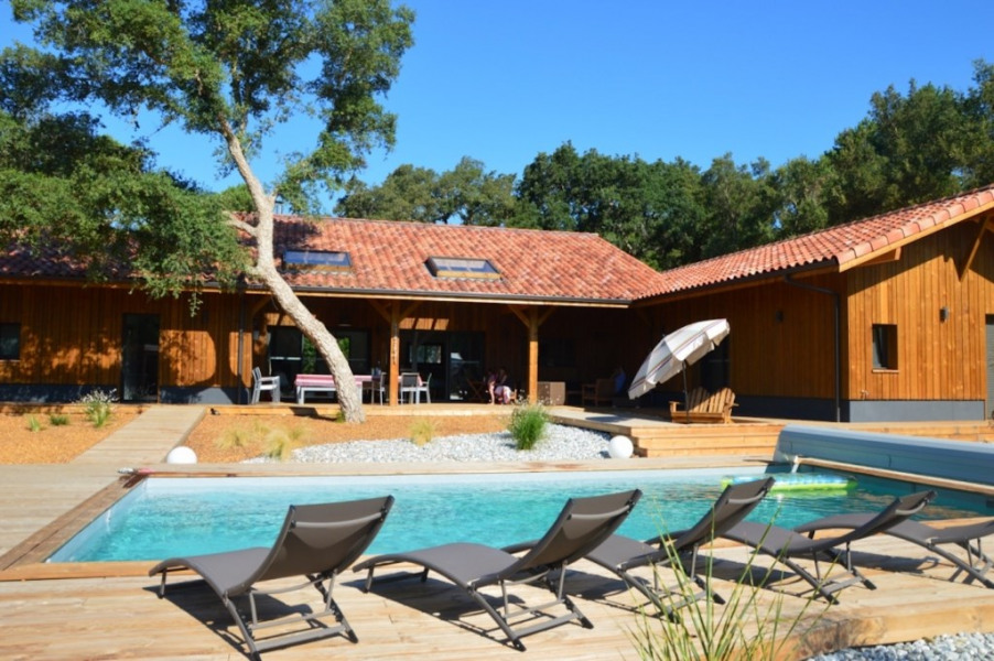 Location vacances Moliets-et-Maa -  Maison - 16 personnes - Barbecue - Photo N° 1