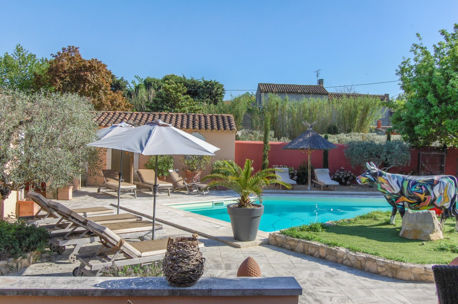 Holiday rentals Saint-Rémy-de-Provence - Cottage - 4 persons - BBQ - Photo N° 1