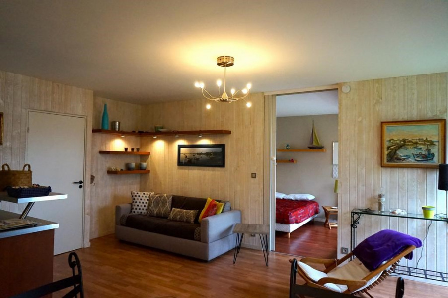 Location vacances Concarneau -  Appartement - 4 personnes - Salon de jardin - Photo N° 1