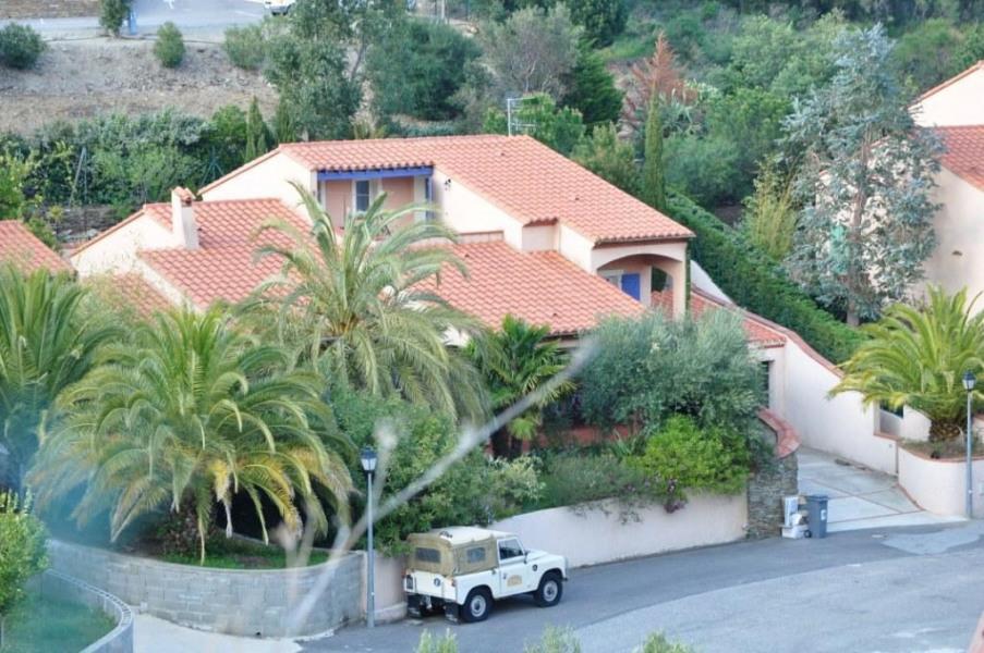 villa vue du haut