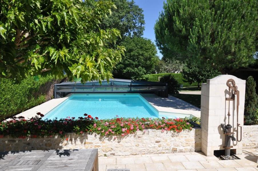 piscine 12X6  couverte