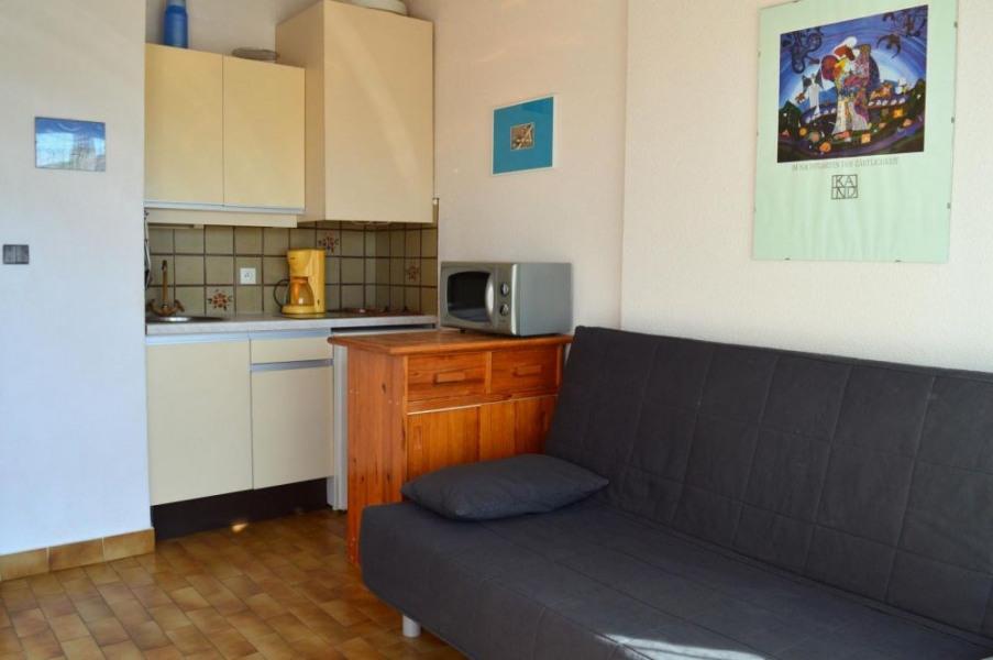 Port-Leucate(11) - Quartier naturiste - Aphrodite village. Studio - 15 m² environ - jusqu'à 2 personnes.