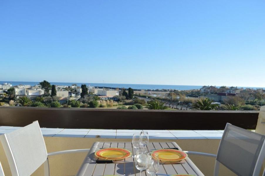 Le Cap d'Agde naturiste (34) - Quartier Port Nature - Résidence Port Nature Colline - Appartement studio - 18 m² envi...