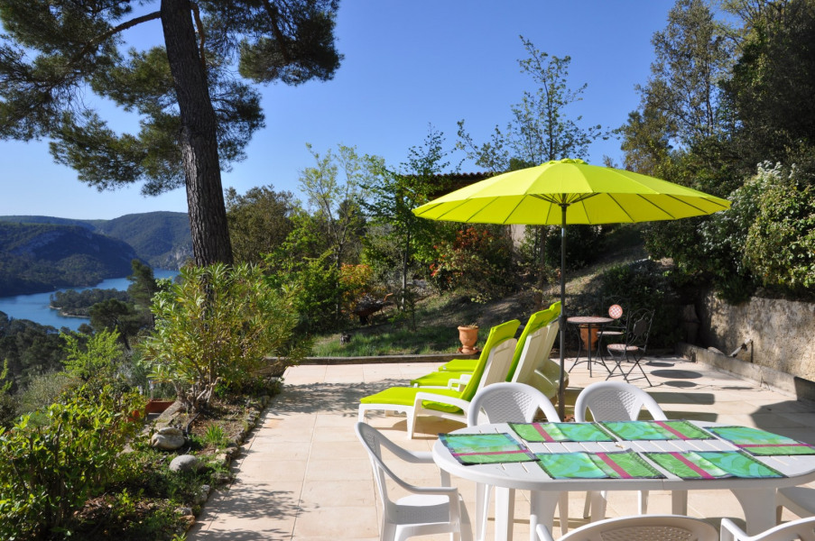 Location vacances Esparron-de-Verdon -  Maison - 4 personnes - Barbecue - Photo N° 1