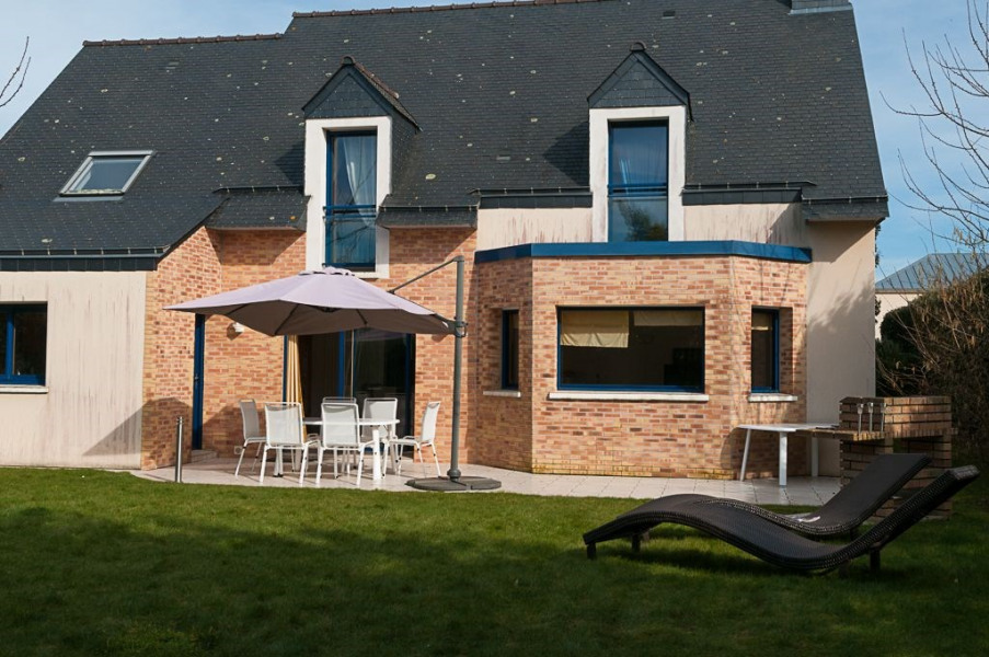 Location vacances Dinard -  Maison - 11 personnes - Barbecue - Photo N° 1