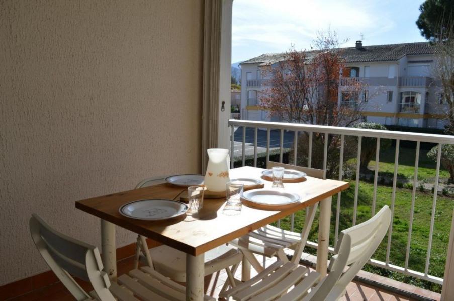 Appartement studio cabine de 25 m² environ pour 4 personnes située à 400 m de la mer et à 600 m du centre de la stati...