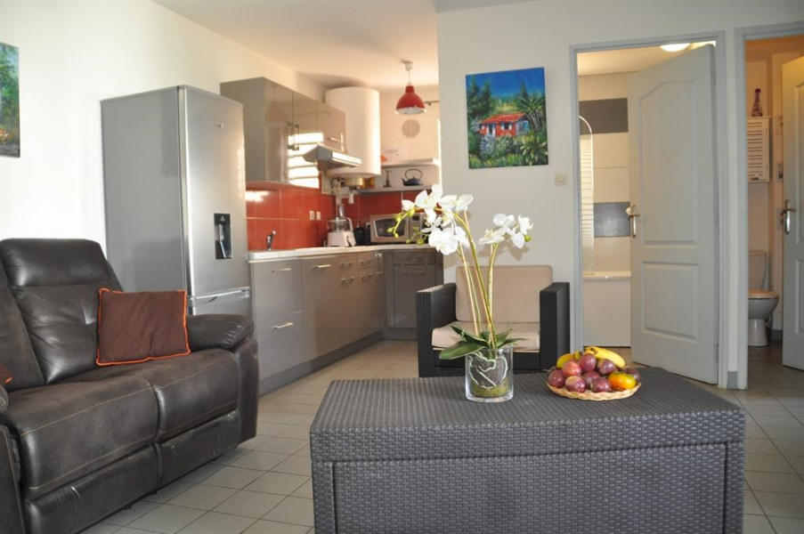 Holiday rentals Saint-Paul - Apartment - 4 persons - Television - Photo N° 1