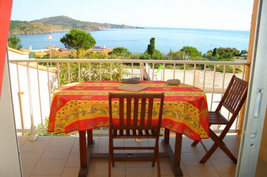 Location vacances Banyuls-sur-Mer -  Appartement - 5 personnes - Barbecue - Photo N° 1