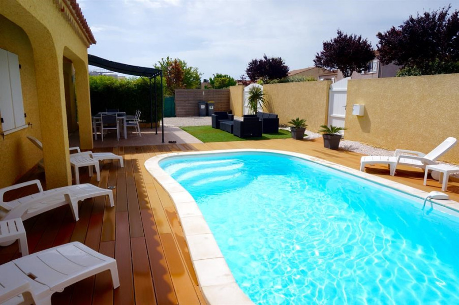 Holiday rentals Pinet - House - 8 persons - BBQ - Photo N° 1