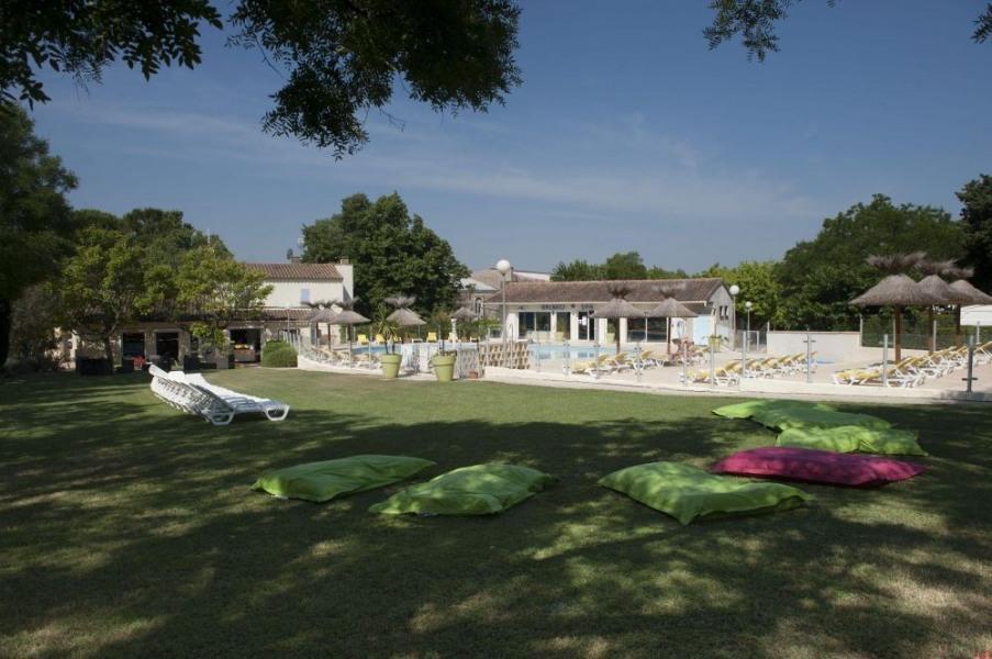 Camping du Mas de Nicolas, 134 emplacements, 32 locatifs