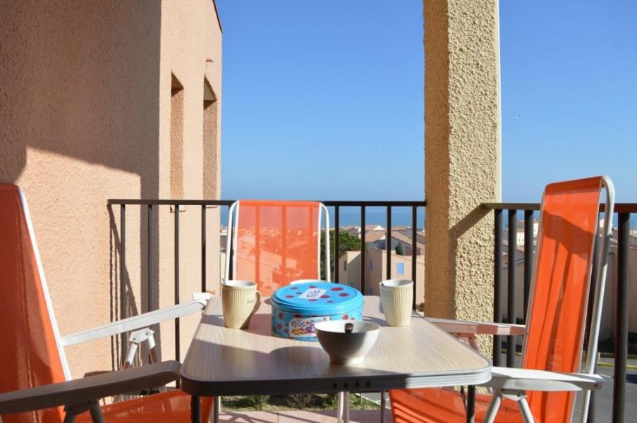 Saint Pierre la Mer (11) - Quartier de la Vigie - Résidence de la Méditerranée. Appartement 2 pièces - 22 m² environ ...