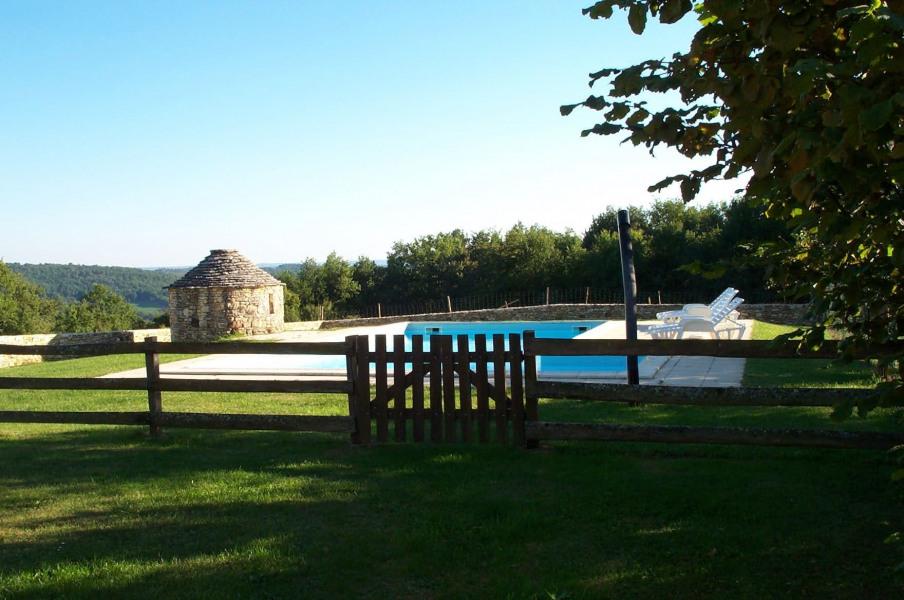 Maison en pierre avec piscine privee