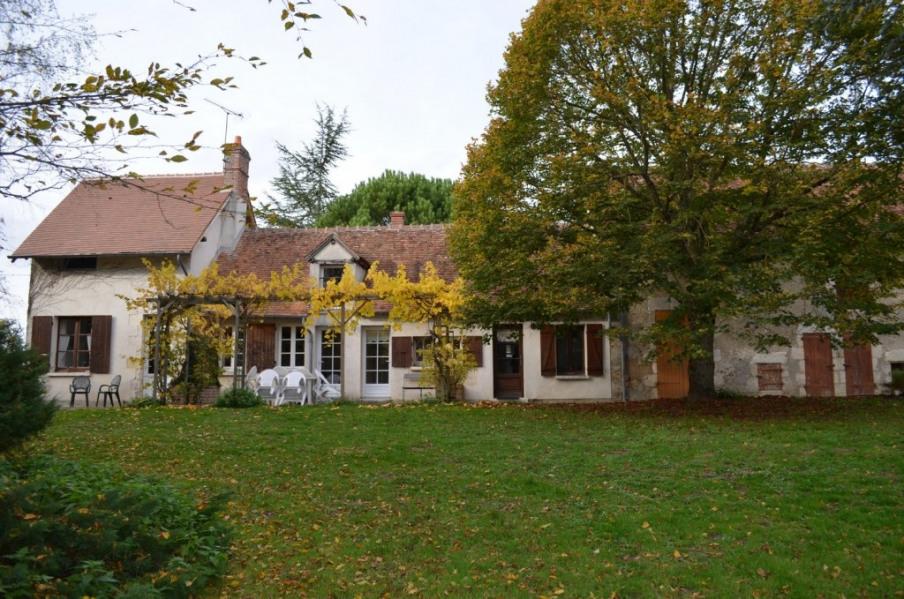 La maison vue à partir du jardin