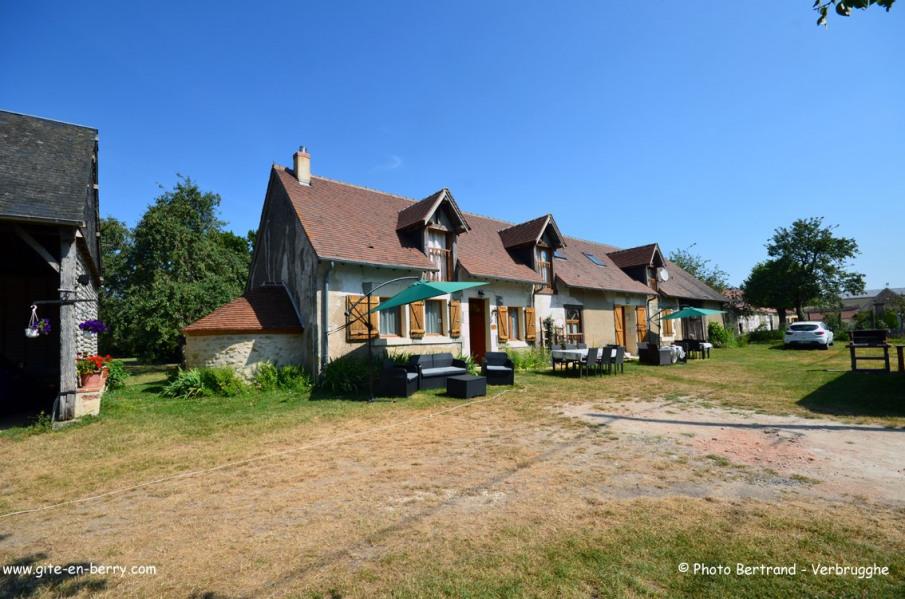 Location vacances Moulins-sur-Céphons -  Gite - 4 personnes - Barbecue - Photo N° 1