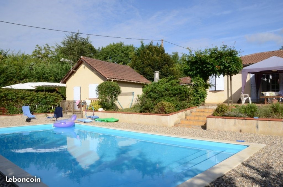 4 persons gîte with shared swimming pool - Courrensan