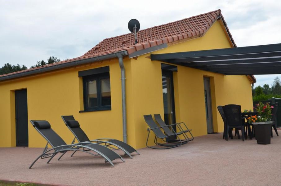 extérieurs - terrasse couverte - salon de jardin