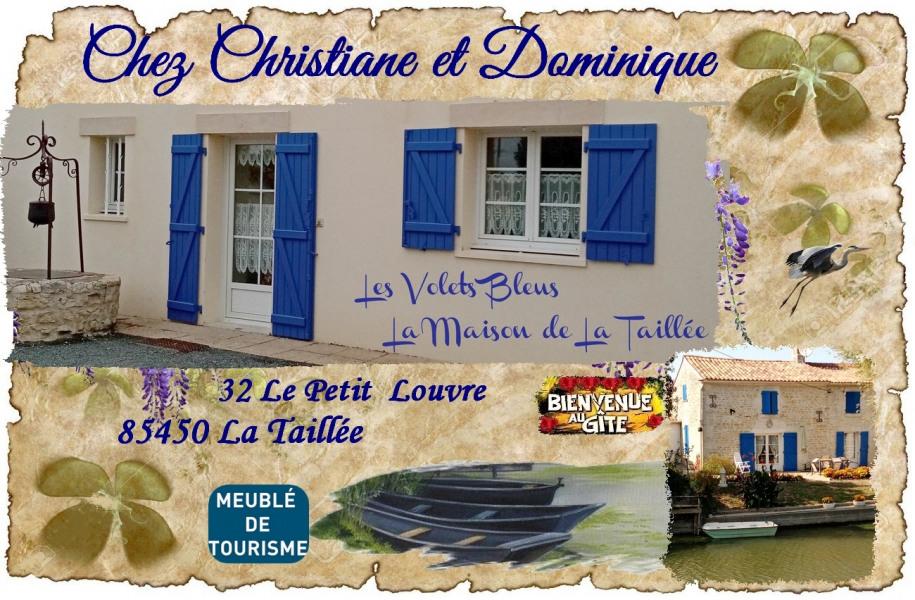Location vacances La Taillée -  Gite - 6 personnes - Barbecue - Photo N° 1