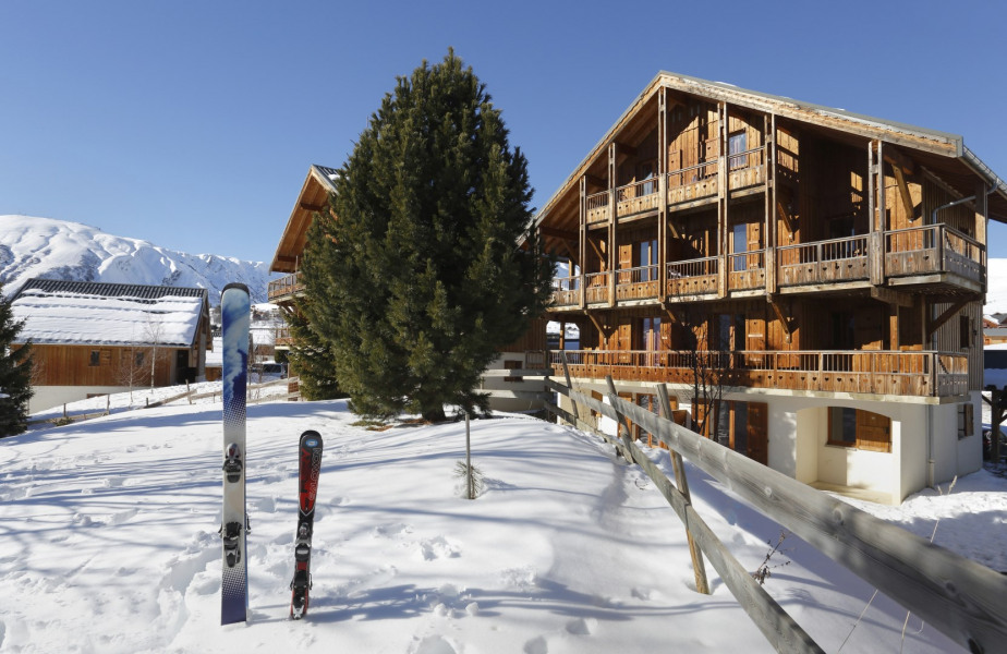 Les Chalets des Cîmes bénéficient d'un panorama ouvert à 360° sur les montagnes. La Résidence se compose d'appartements