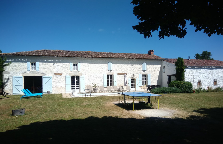 Holiday rentals Corme-Écluse - Cottage - 25 persons - BBQ - Photo N° 1