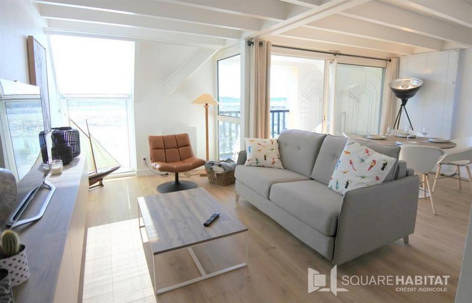 Alquileres de vacaciones La Trinité-sur-Mer - Apartamento - 4 personas - Mueble de jardín - Foto N° 1