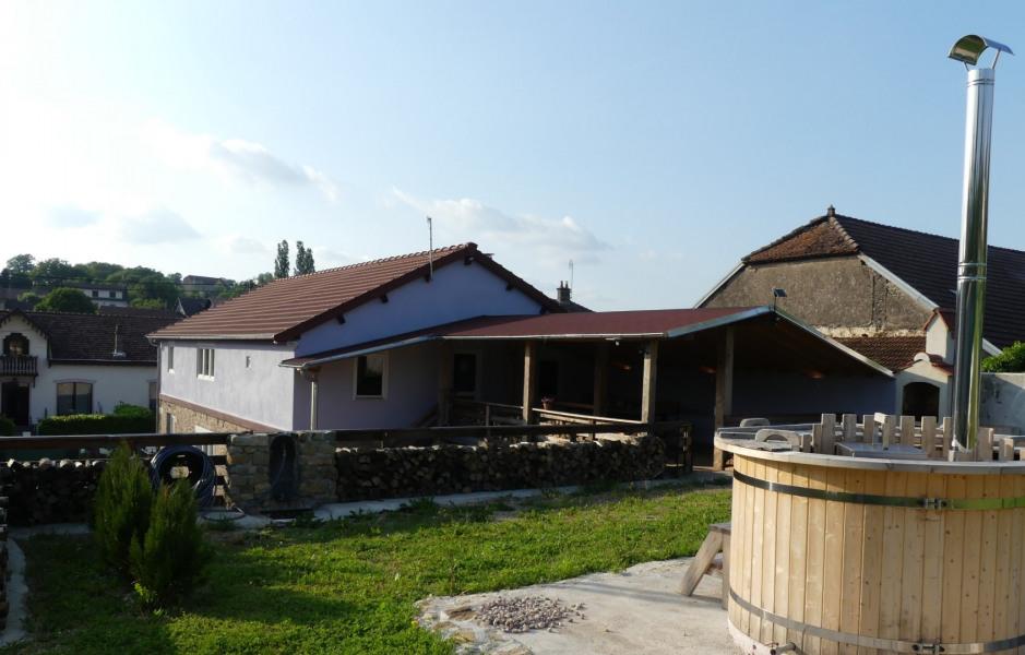 L'appartement de vacances pour 6 pers. avec terrasse et bain nordique - Vitrey sur Mance