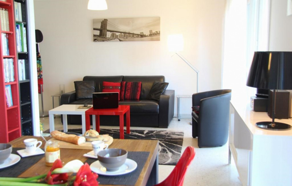 Location vacances Cannes -  Appartement - 4 personnes - Salon de jardin - Photo N° 1
