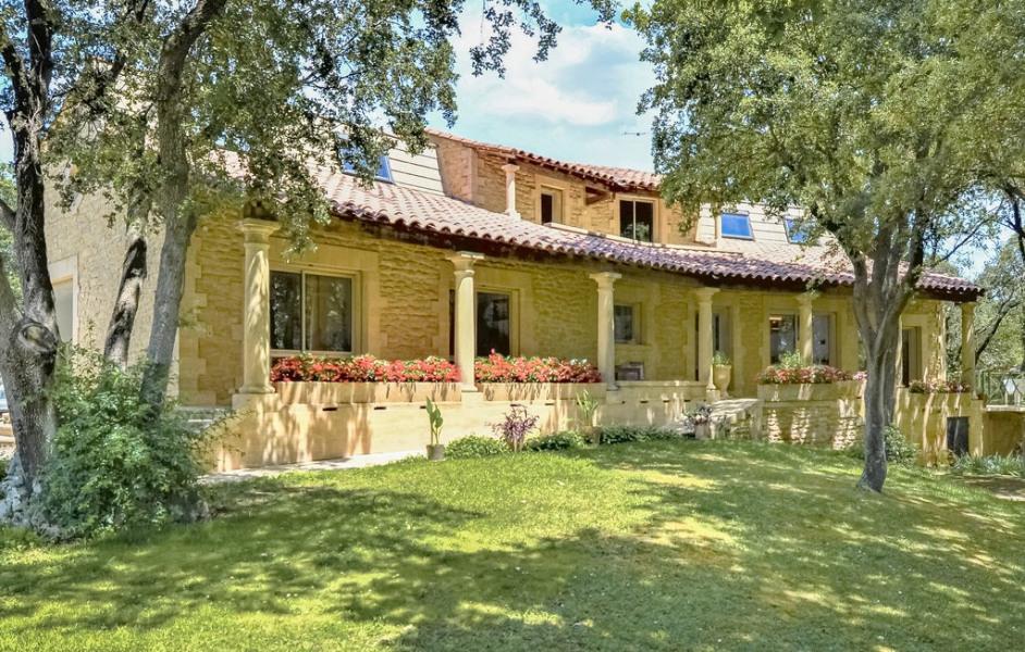 Location vacances Vers-Pont-du-Gard -  Maison - 11 personnes - Barbecue - Photo N° 1