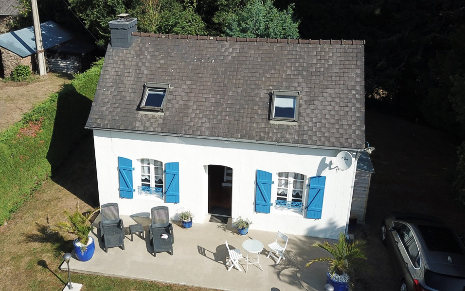 Holiday rentals Le Faou - Cottage - 4 persons - BBQ - Photo N° 1