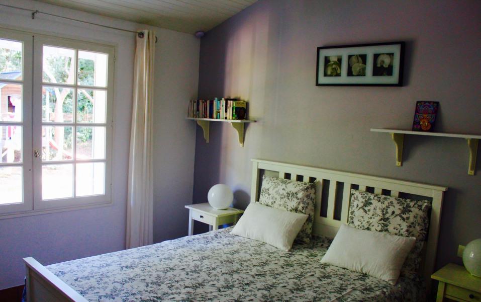 Chambre sur terasse nord lit 160 avec cabinet de toilettes