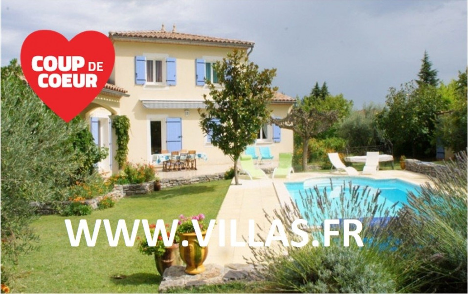 Location vacances Anduze -  Maison - 6 personnes - Barbecue - Photo N° 1