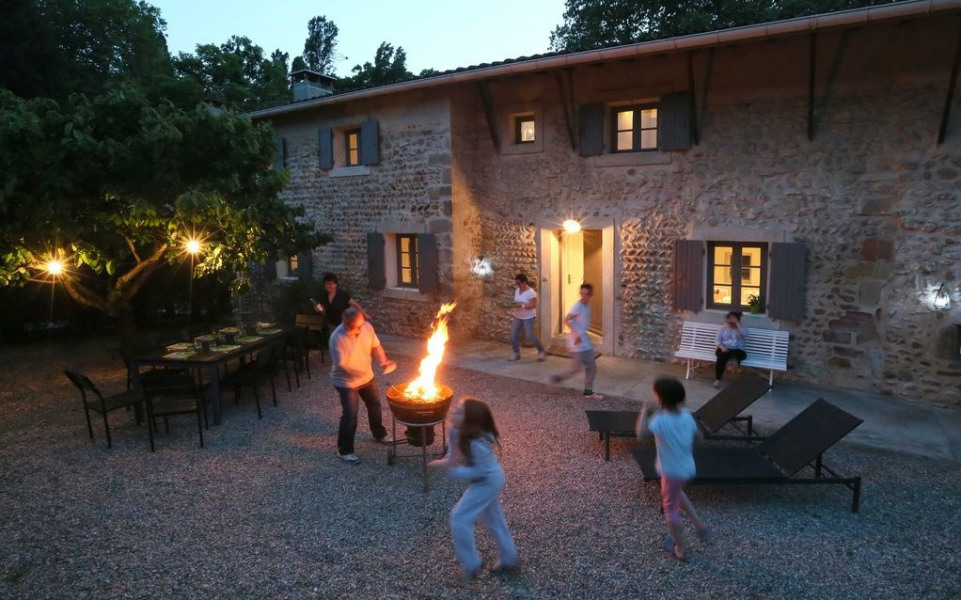 Location vacances Beausemblant -  Gite - 10 personnes - Barbecue - Photo N° 1