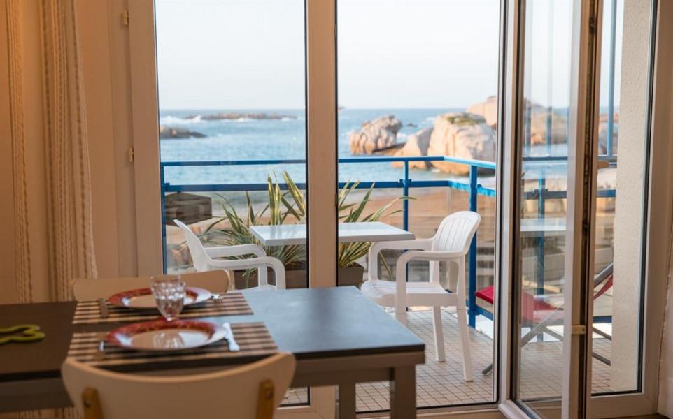 vue mer du séjour et de la terrasse