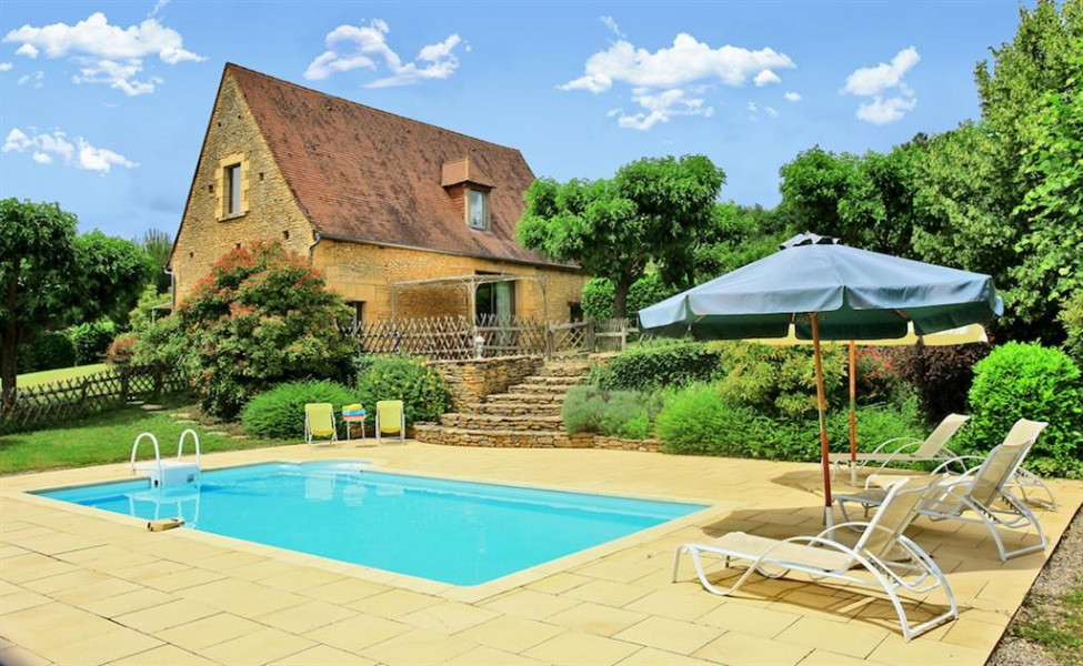 Location vacances La Chapelle-Aubareil -  Maison - 6 personnes - Barbecue - Photo N° 1
