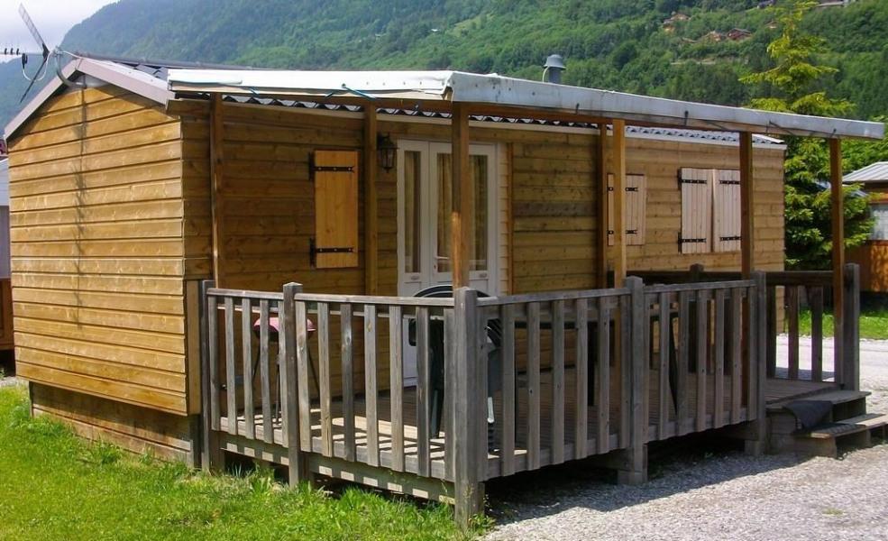 Mobil-home bardé 20m²