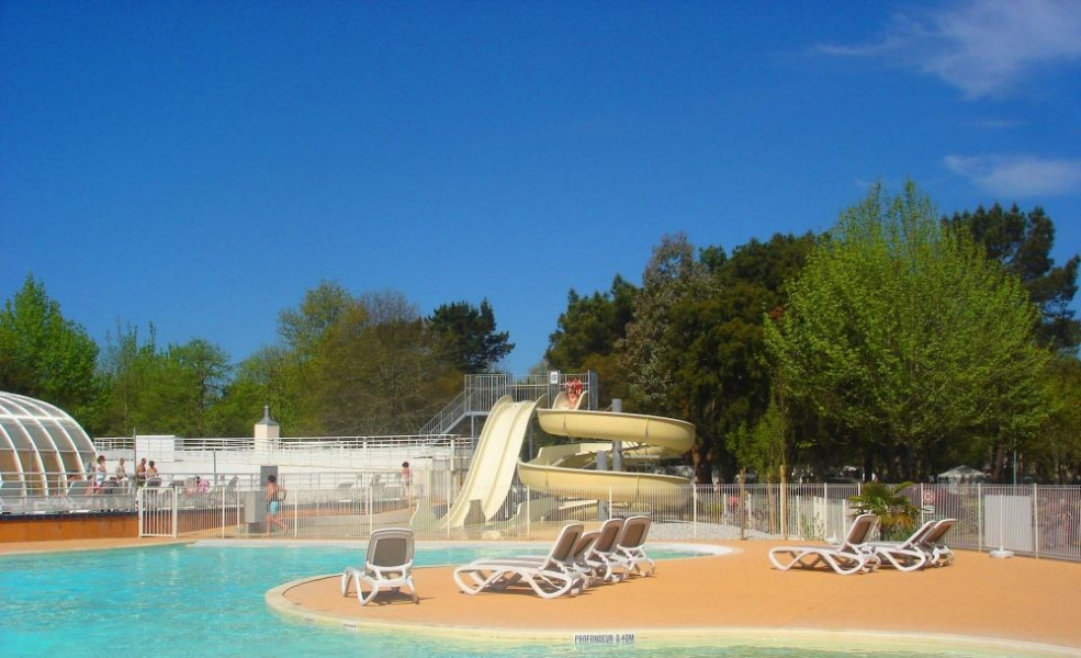 Camping l'Airial, 145 emplacements, 86 locatifs