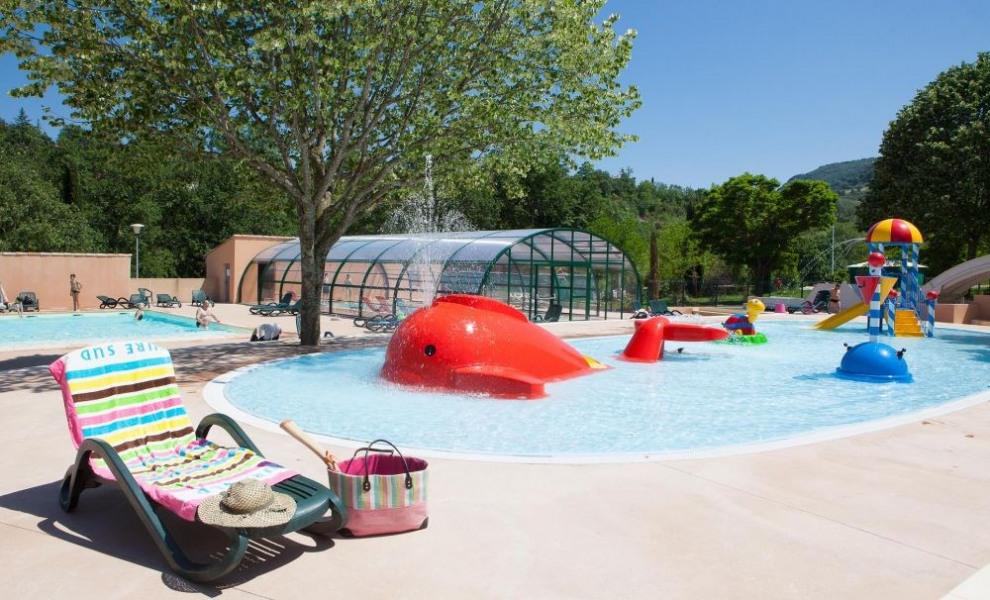 Ardèche Camping, 166 emplacements, 30 locatifs