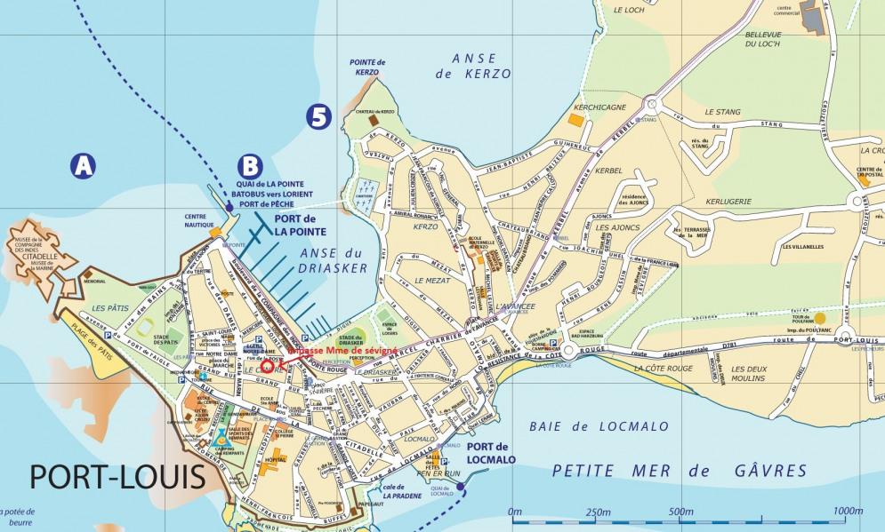 Location vacances Port-Louis -  Maison - 4 personnes -  - Photo N° 1