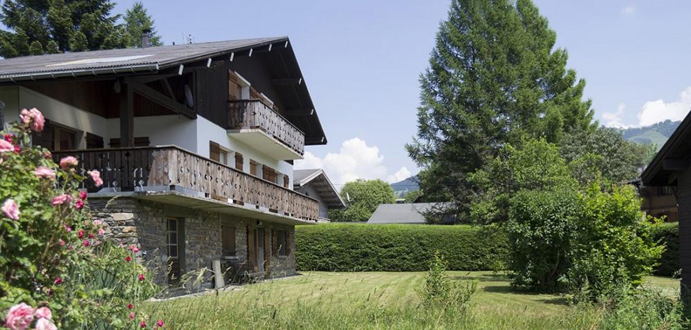 Location vacances Megève -  Appartement - 3 personnes - Chaise longue - Photo N° 1
