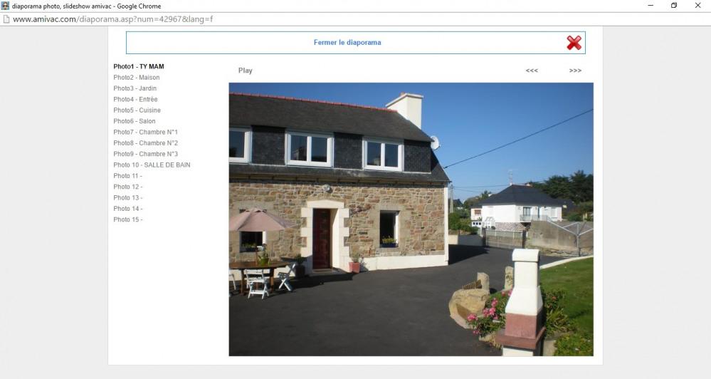 Holiday rentals Pleubian - House - 5 persons - BBQ - Photo N° 1